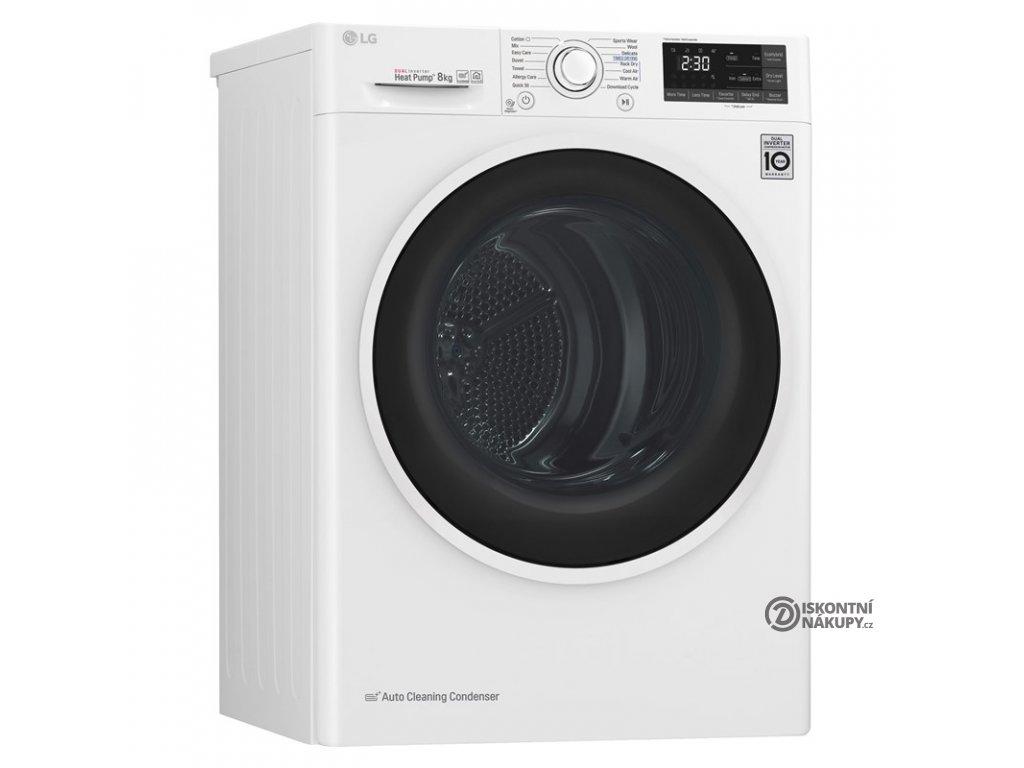 Sušička prádla LG RC82EU2AV4Q bílá  nepoužito-rozbaleno