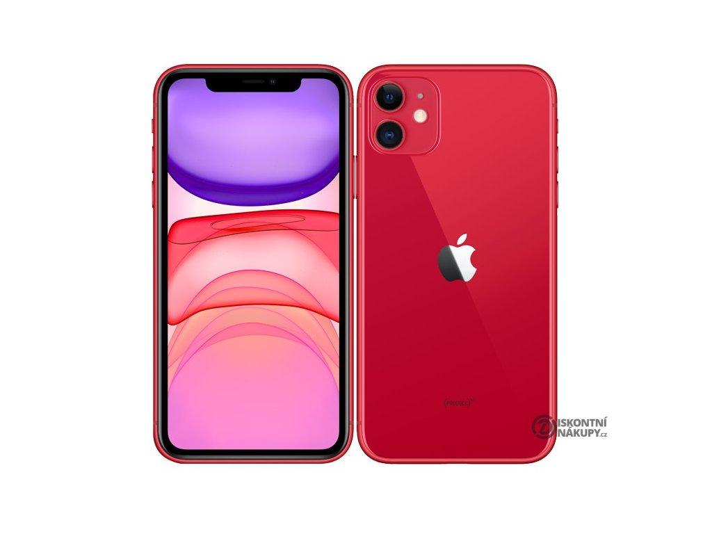 Mobilní telefon Apple iPhone 11 64 GB - (PRODUCT)RED  Vráceno ve 14ti denní lhůtě - kosmetické oděrky