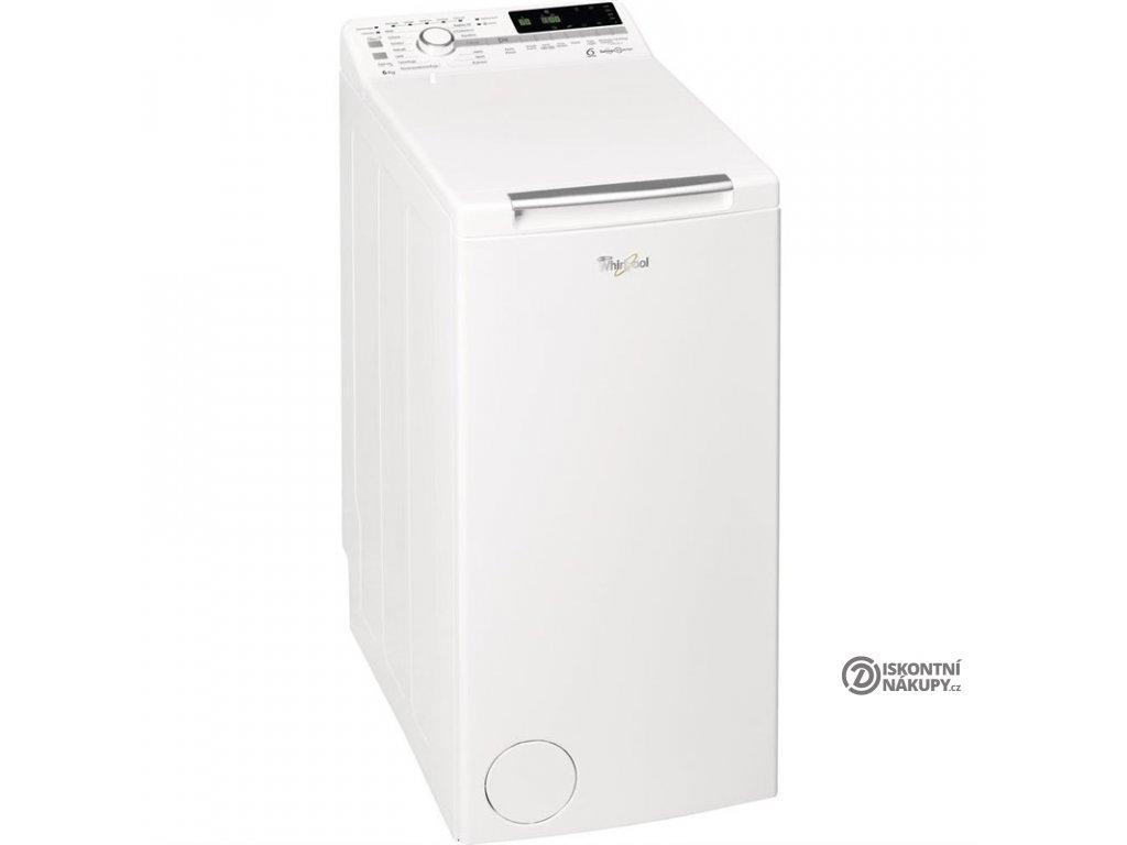 Pračka Whirlpool TDLR 60220 bílá  Chybí šrouby - Vypouklina - Kosmetické oděrky