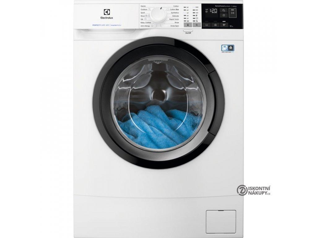 Pračka Electrolux PerfectCare 600 EW6S426BCI bílá  nepoužito-rozbaleno