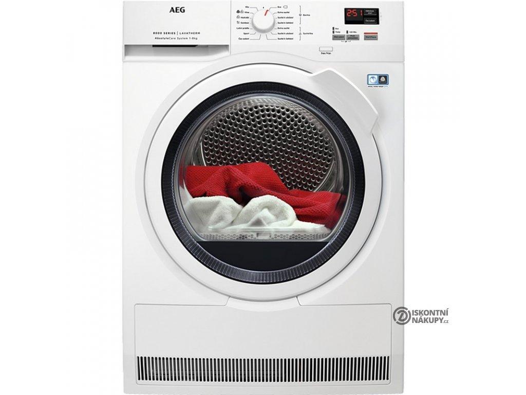 Sušička prádla AEG AbsoluteCare® T8DBK68WC  nepoužito-rozbaleno