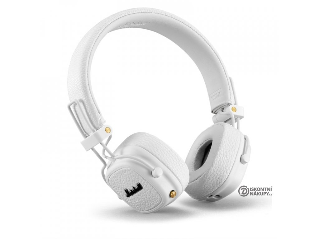 Sluchátka Marshall Major III Bluetooth bílá  mhlmajorIIIBTWH