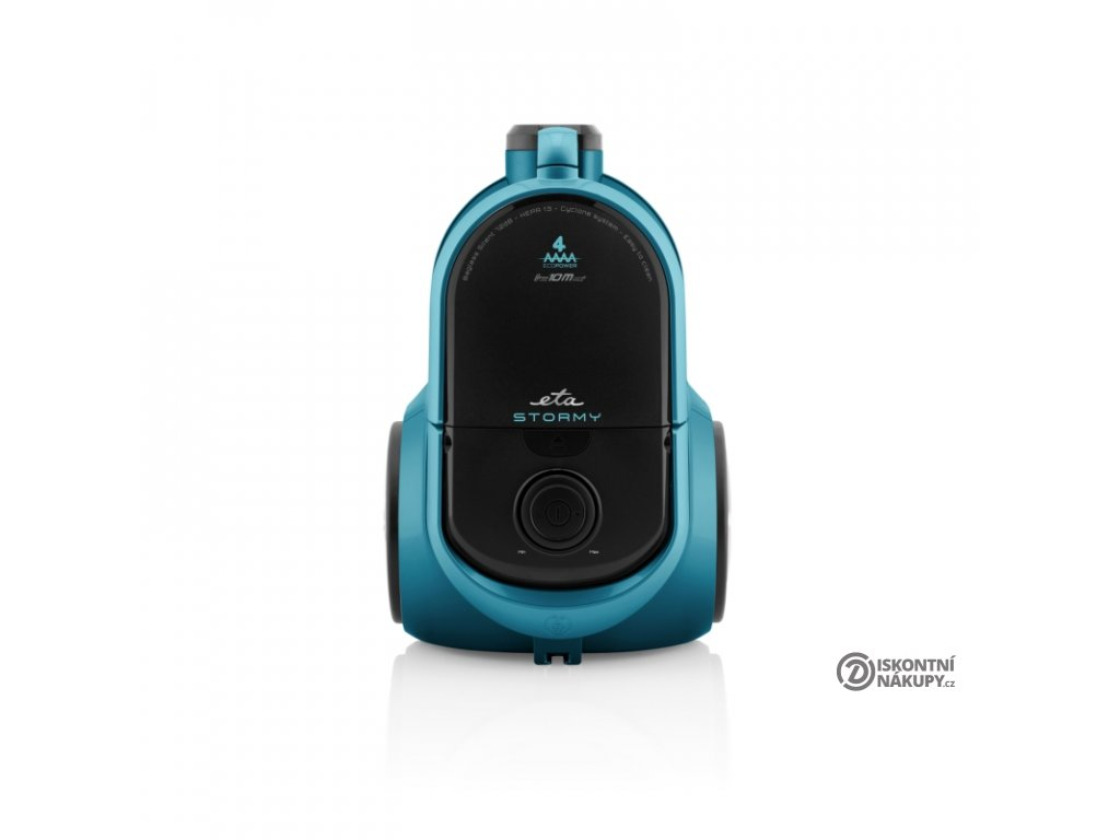 Podlahový vysavač ETA Stormy Animal 2517 90000 modrý  nepoužito-rozbaleno-poškozená krabice