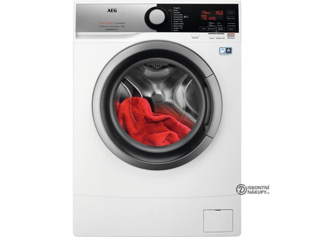 Pračka AEG ProSense™ L6SE47SCE bílá  nepoužito-rozbaleno