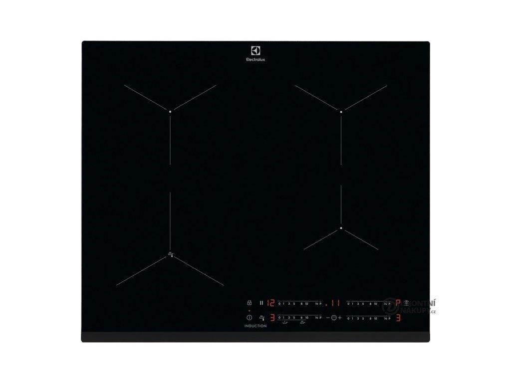 Indukční varná deska Electrolux EIS6134 černá  Nepoužito - Rozbaleno - Poškozená krabice