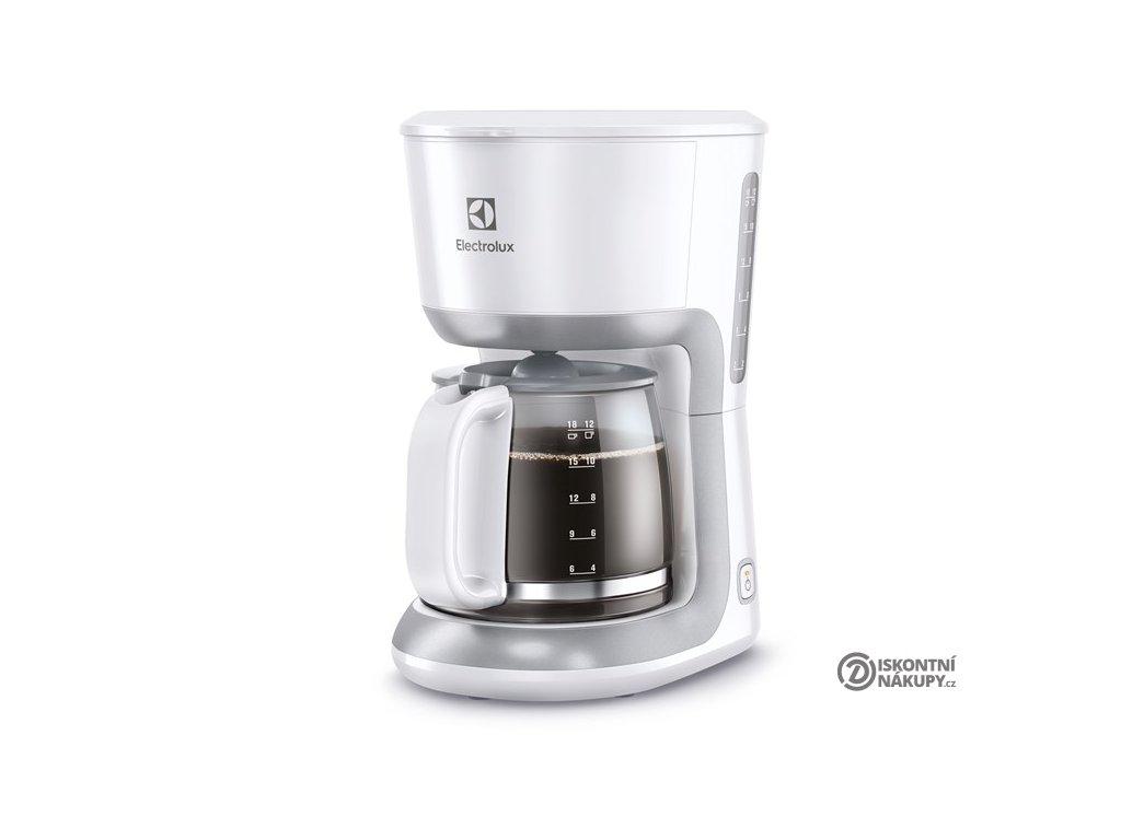 Kávovar Electrolux Love your day EKF3330 bílý  Nepoužito - Vystaveno - Poškozená krabice
