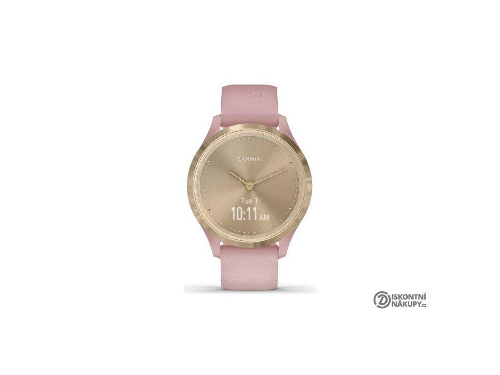 Chytré hodinky Garmin vivomove3S Sport LightGold/Pink  GARVIVO3SSPOGOP