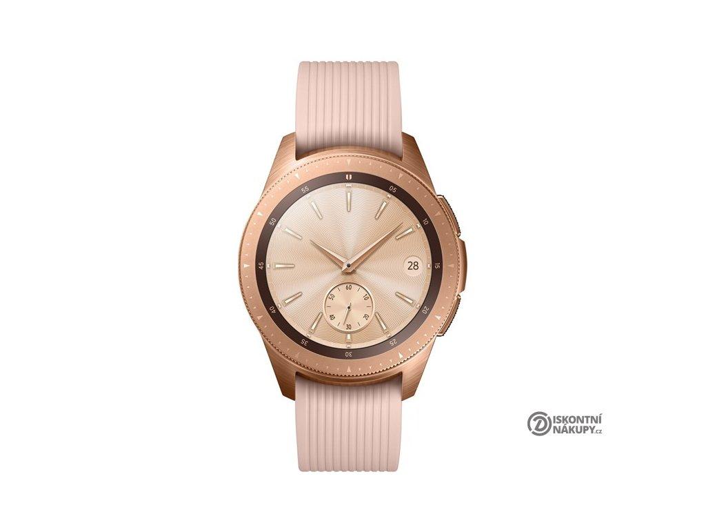 Chytré hodinky Samsung Galaxy Watch 42mm růžové  Vráceno ve 14ti denní lhůtě