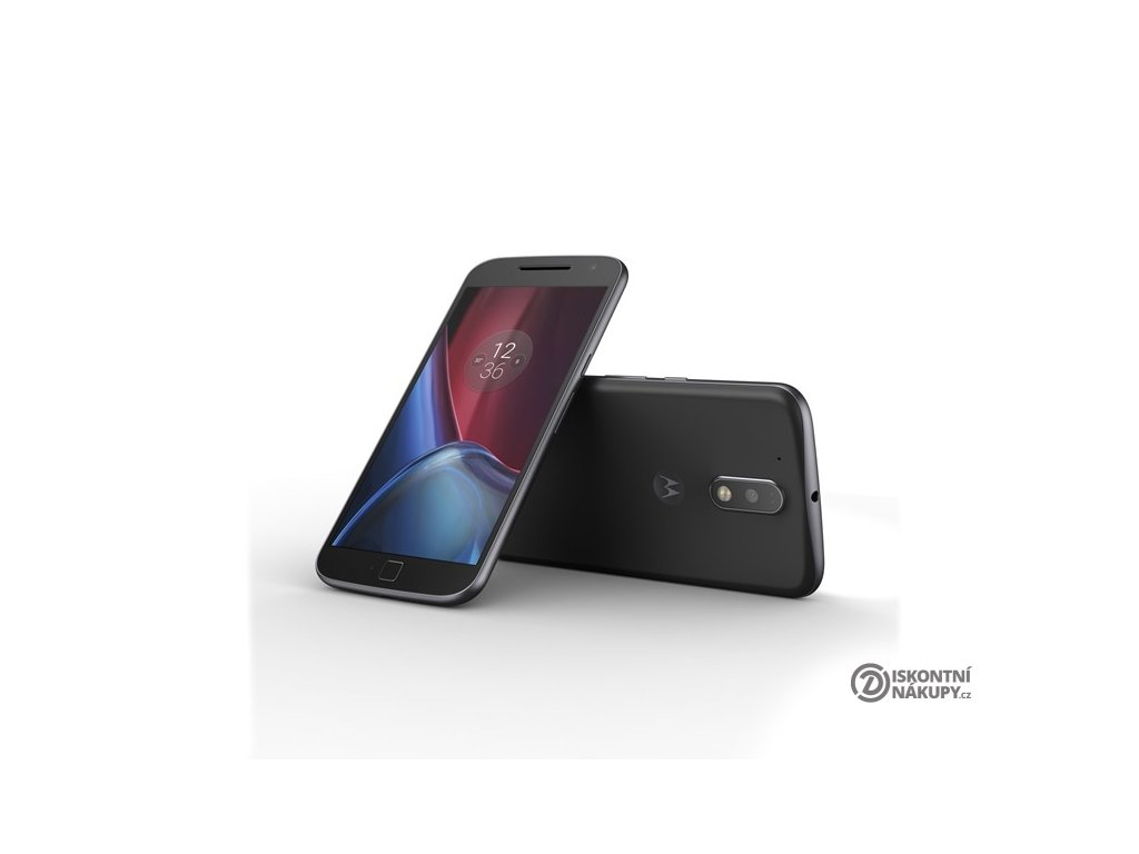 Mobilní telefon Motorola Moto G4 Plus Dual SIM černý  lnvsm4378ae7n7