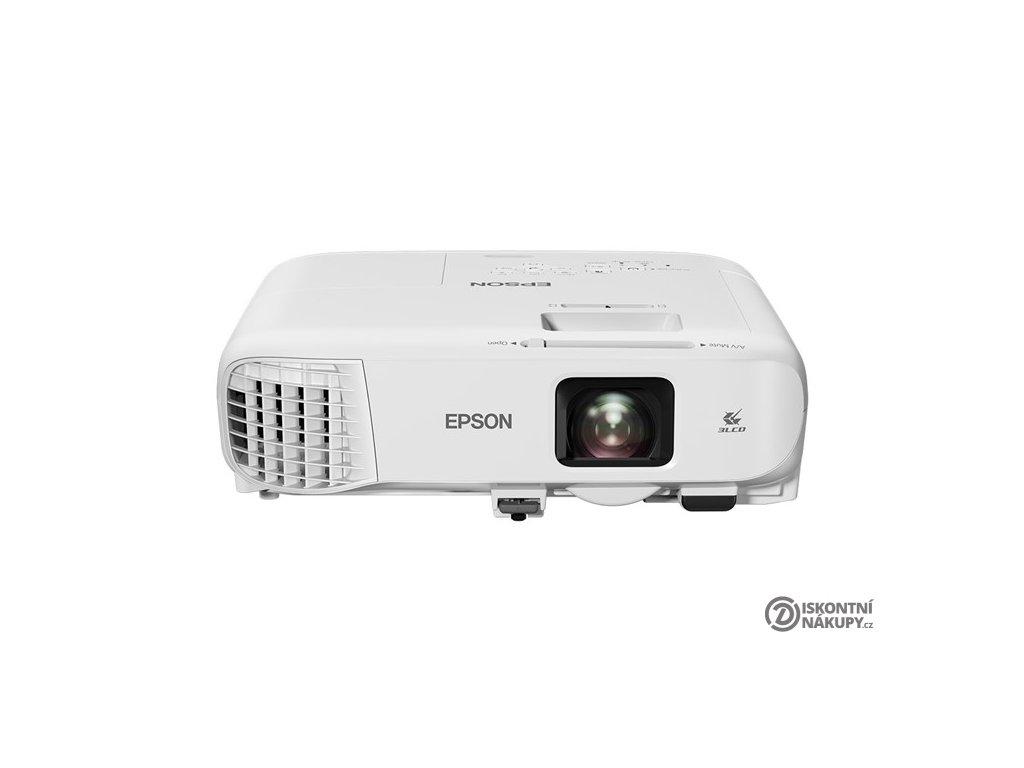 Projektor Epson EB-2247U bílý  Poškozený obal - Vystaveno