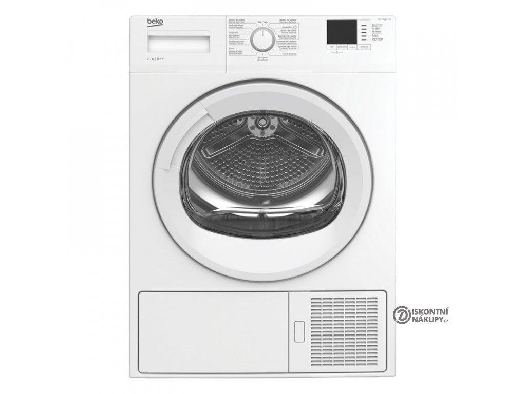 Sušička prádla Beko HDF 7412 CSRX bílá  nepoužito-rozbaleno-pravá strana malá def. plechu
