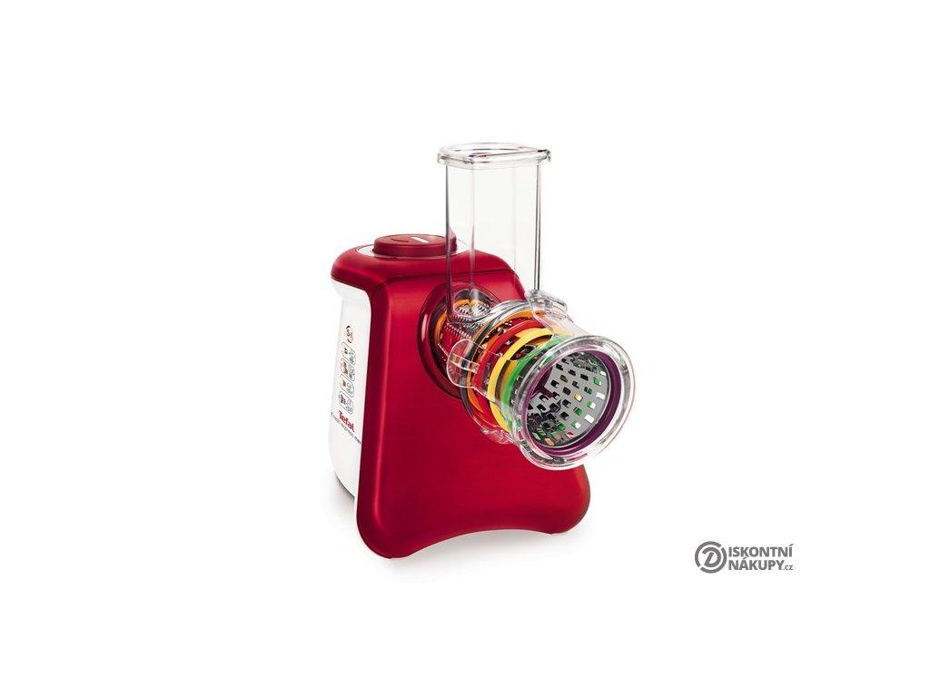 Elektrický strouhač Tefal FreshExpress Max MB813538 bílý/červený  Nepoužito - Vystaveno - Poškozená krabice - Kosmetické oděrky