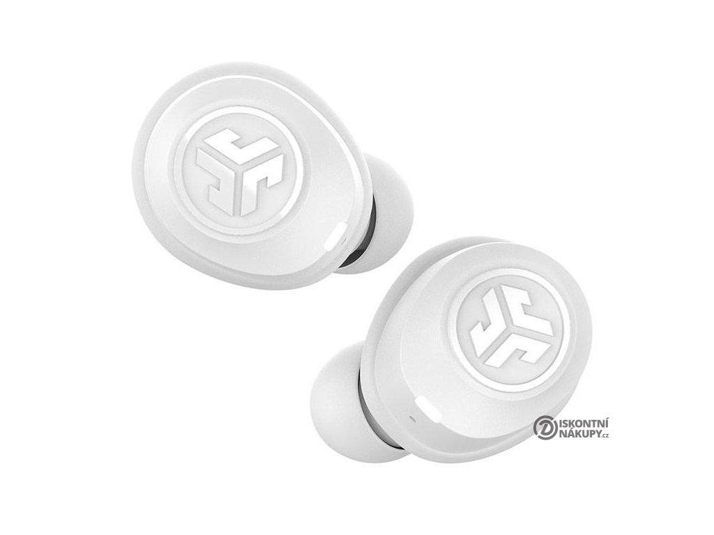 Sluchátka JLab JBuds Air True Wireless Earbuds bílá (IEUEBJBUDSAIRRWHT8)  jlbjbudsairrwht8