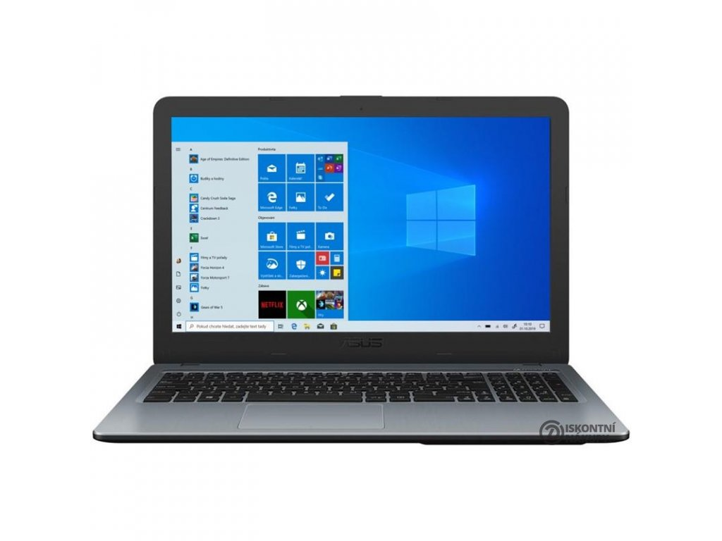 Notebook Asus (A540BA-DM888T) stříbrný (A540BA-DM888T)  asua540badm888t