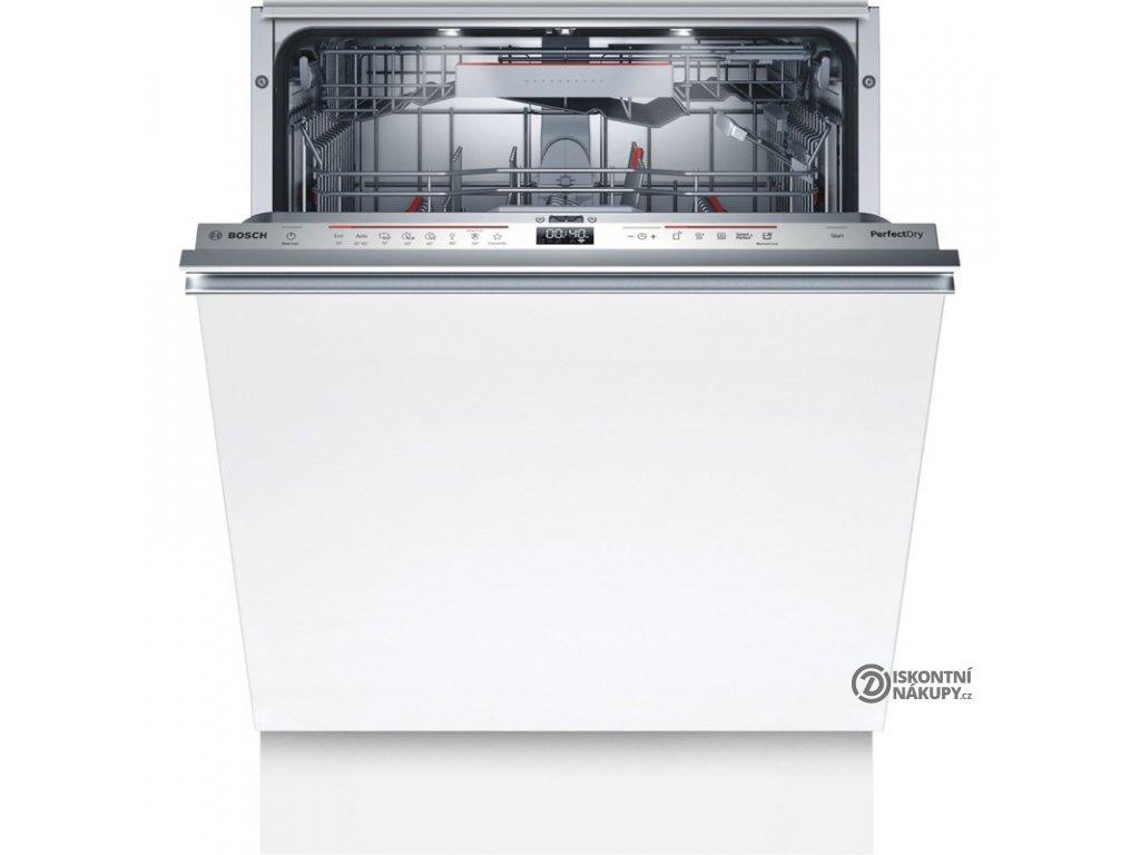 Myčka nádobí Bosch Serie | 6 SMV6ZDX49E nerez  Nepoužito - Levá strana def.plechu