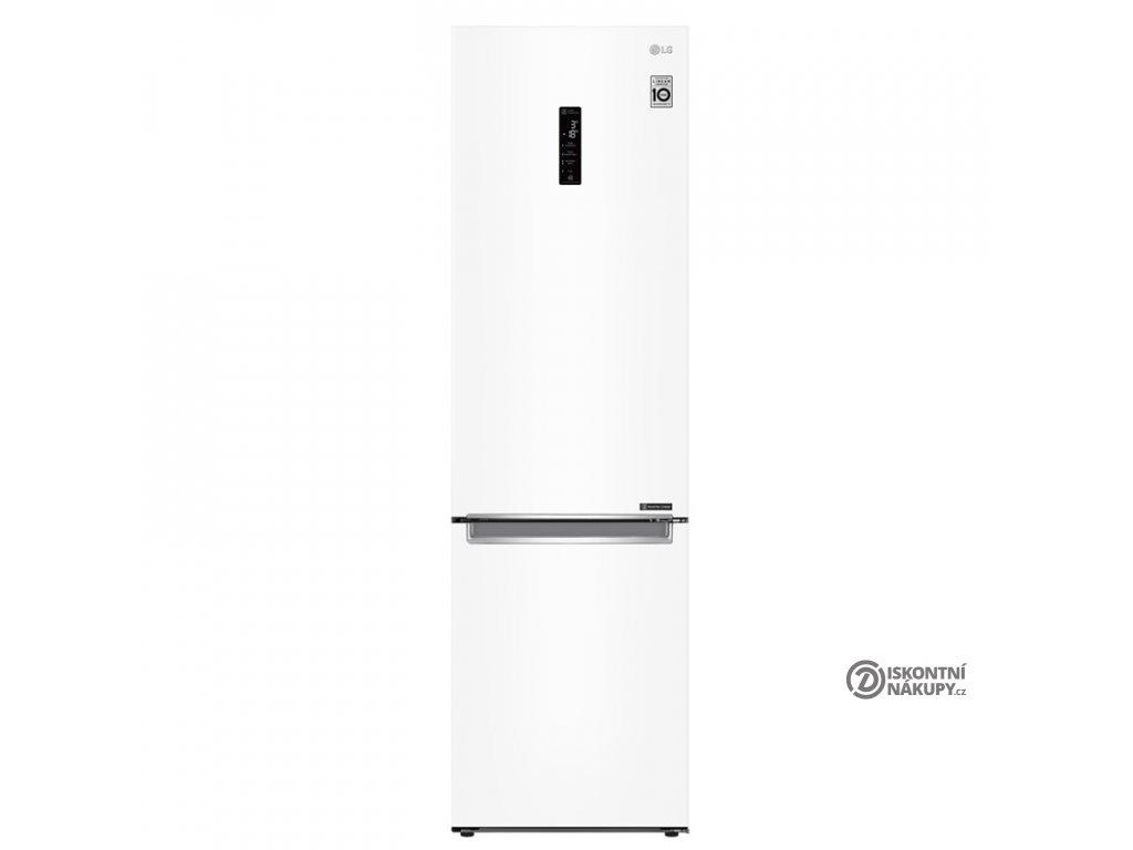 Chladnička s mrazničkou LG GBB72SWDFN bílá  Nepoužito - Pravá strana def.plechu