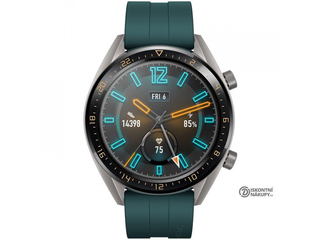 Chytré hodinky Huawei Watch GT Active zelené