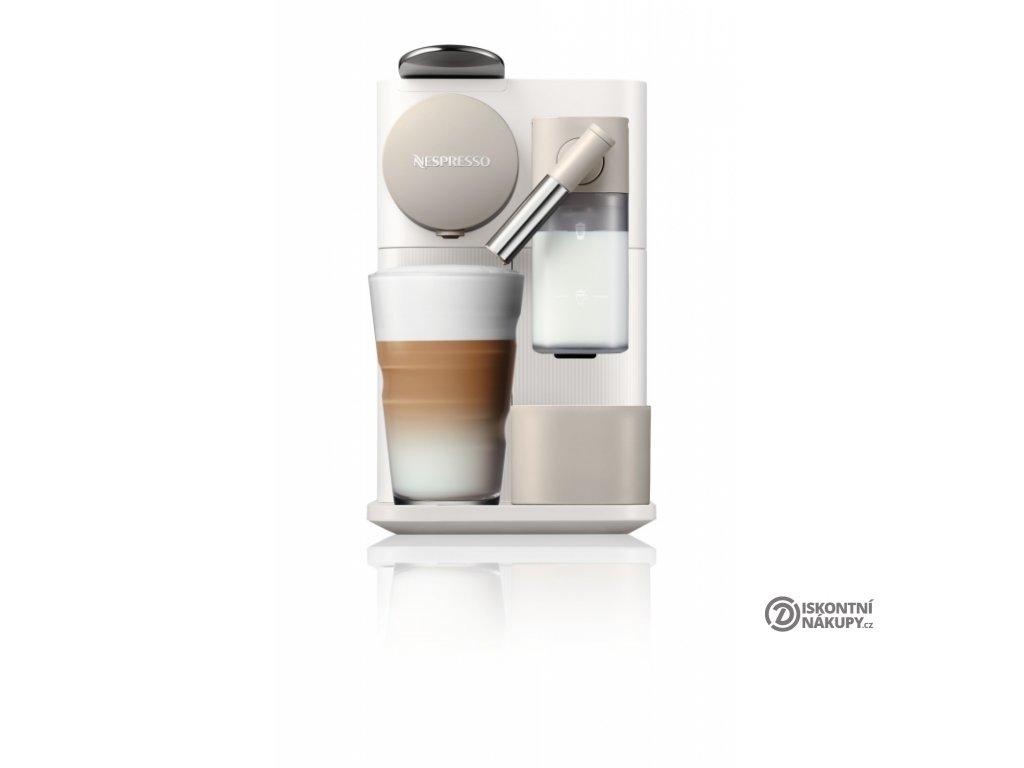 Espresso DeLonghi Nespresso Lattissima EN500.W bílé/béžové  Nepoužito - Vystaveno - Poškozená krabice