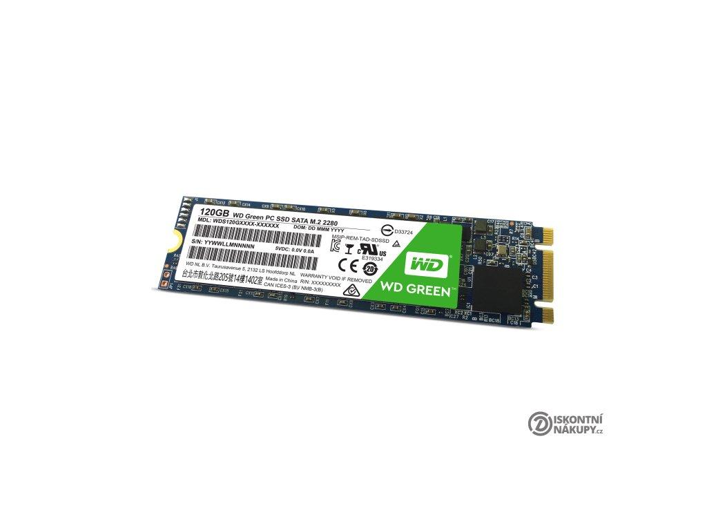 SSD Western Digital Green 3D NAND 120GB M.2  Poškozený obal