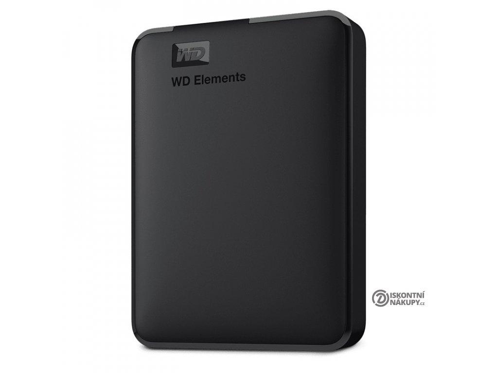 """Externí pevný disk 2,5"""" Western Digital Elements Portable 3TB černý (WDBU6Y0030BBK-WESN)  Nový kus"""