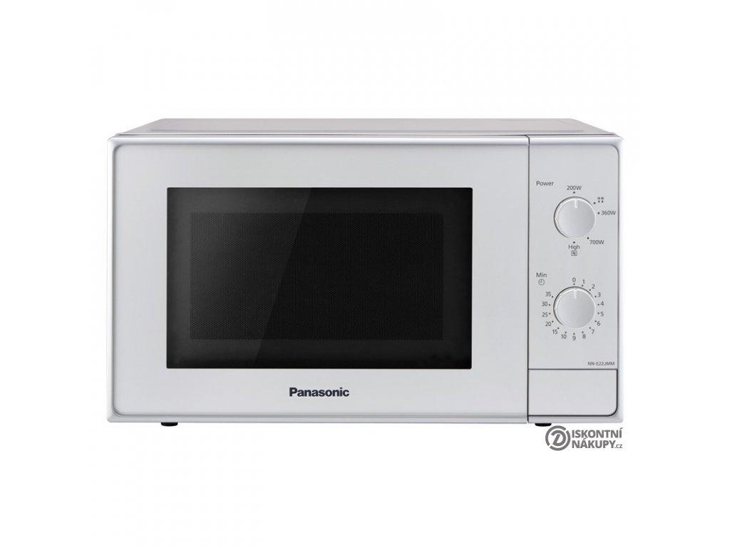 Mikrovlnná trouba Panasonic NN-E22JMMEPG stříbrná  Nepoužito - Vystaveno