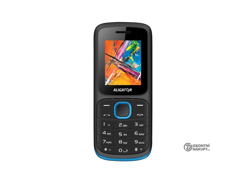 Mobilní telefon Aligator D210 modrý