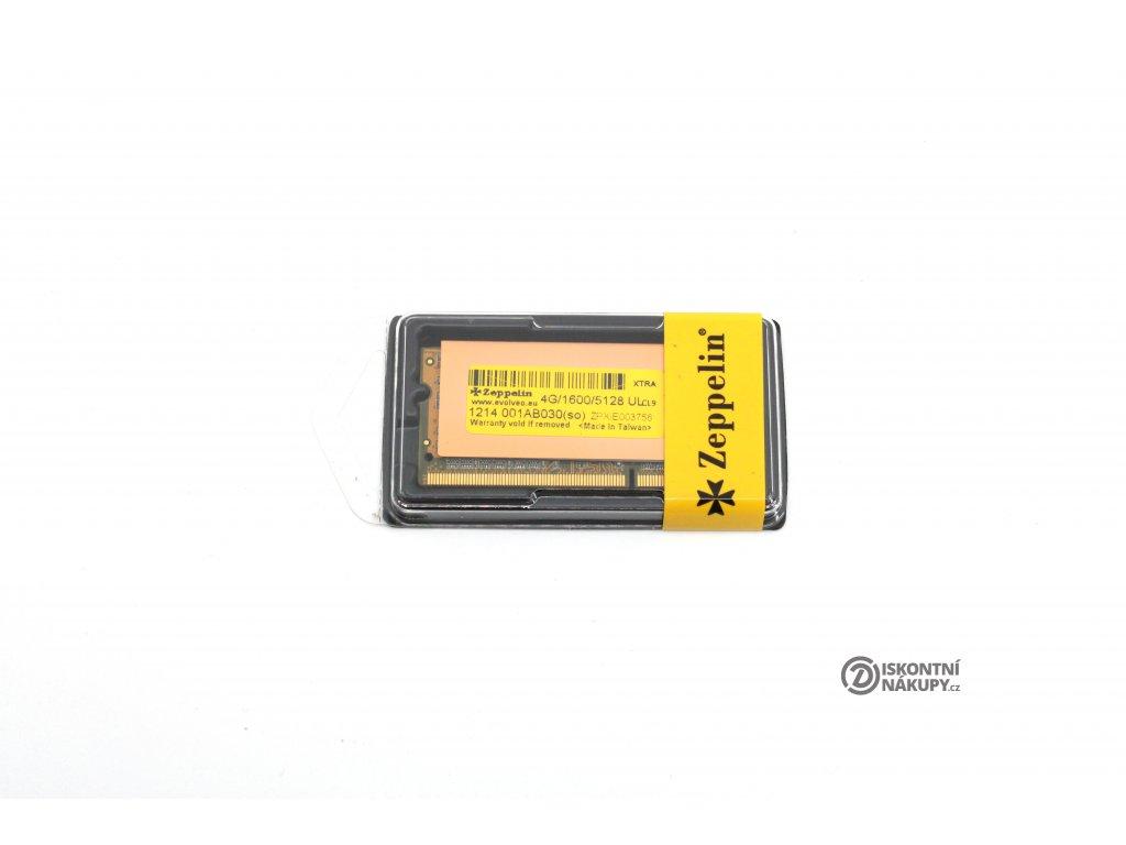 EVOLVEO Zeppelin, 4GB 1600MHz DDR3 CL9 GOLD  Nové zboží