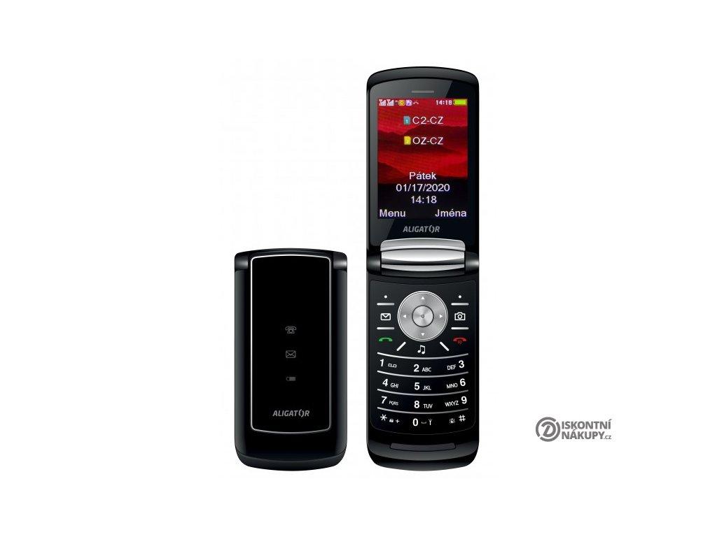 Mobilní telefon Aligator DV800 černý
