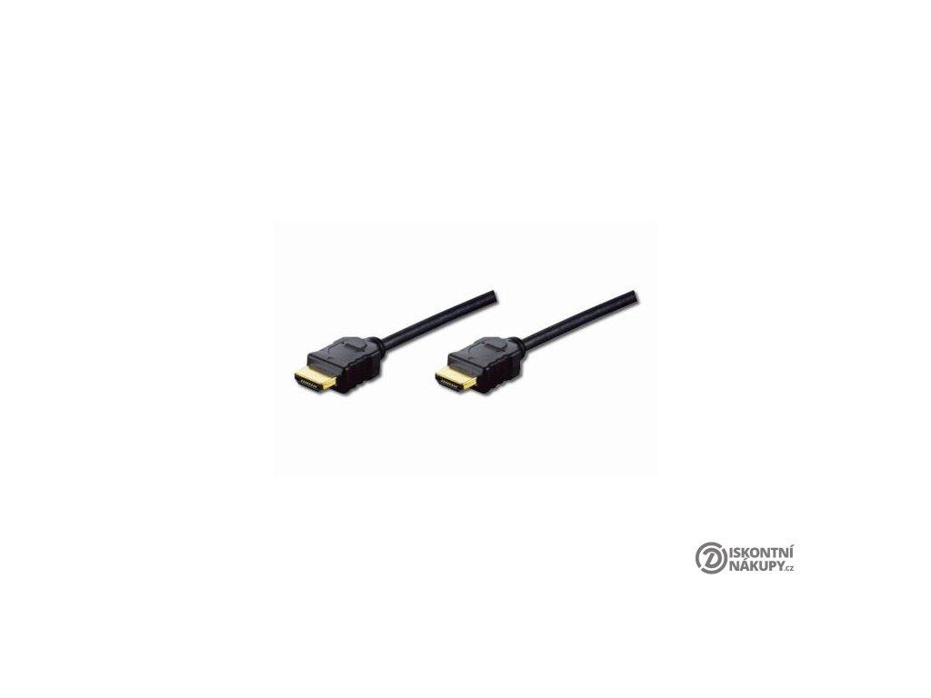 Digitus HDMI High Speed + Ethernet připojovací kabel, 2xstíněný, 5m