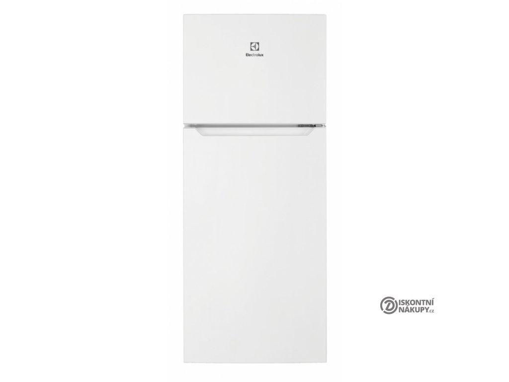 Chladnička Electrolux LTB1AF14W0 bílá  nepoužito - pravá strana oděrka