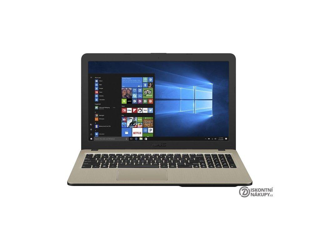 """Notebook Asus X540UB-DM195T černý/zlatý (i5-8250U, 8GB, 256GB, 15.6"""", Full HD, DVD±R/RW, nVidia MX110, 2GB, BT, CAM, W10 Home )  Použito-z reklamace-oděrky-bez obalu-12m 8304h"""