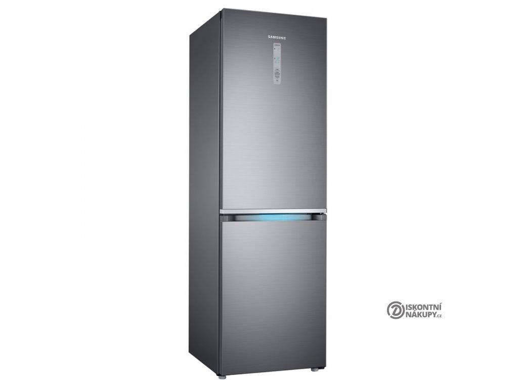 Chladnička s mrazničkou Samsung RB38R7839S9/E  Nepoužito - pravý bok malá deformace
