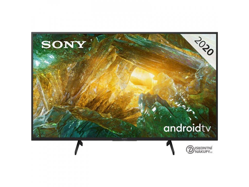 Televize Sony KD-49XH8096 černá  Vráceno ve 14ti denní lhůtě