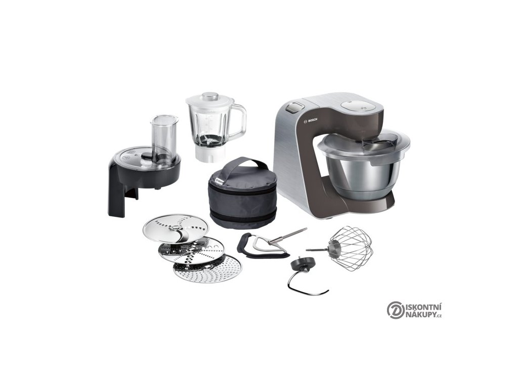 Kuchyňský robot Bosch CreationLine Premium MUM58A20  nepoužito-vystaveno-oděrky-poškozená krabice