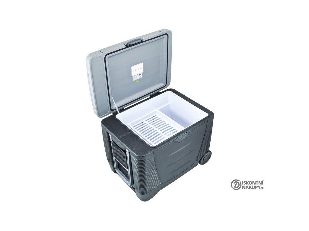 Autochladnička G21 C&W, 45 l, 12/230 V šedá  nepoužito-oděrky šedý plast-poškozená krabice