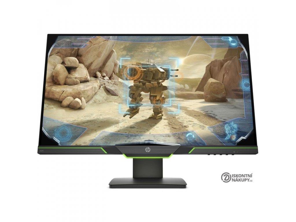 Monitor HP X27i Gaming černý  Poškozený obal - vystaveno