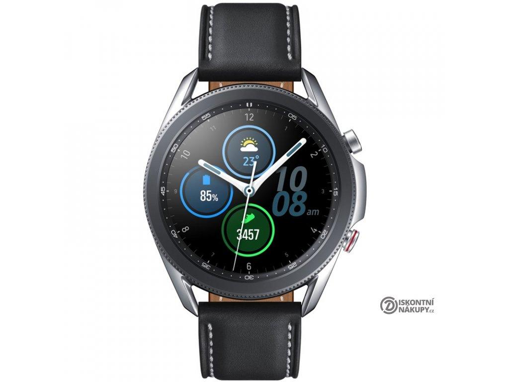 Chytré hodinky Samsung Galaxy Watch3 45mm LTE stříbrné  Vráceno ve 14ti denní lhůtě