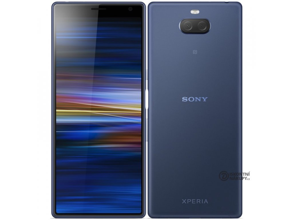 Mobilní telefon Sony Xperia 10 Plus (I4213) Dual SIM modrý  Vráceno ve 14ti denní lhůtě
