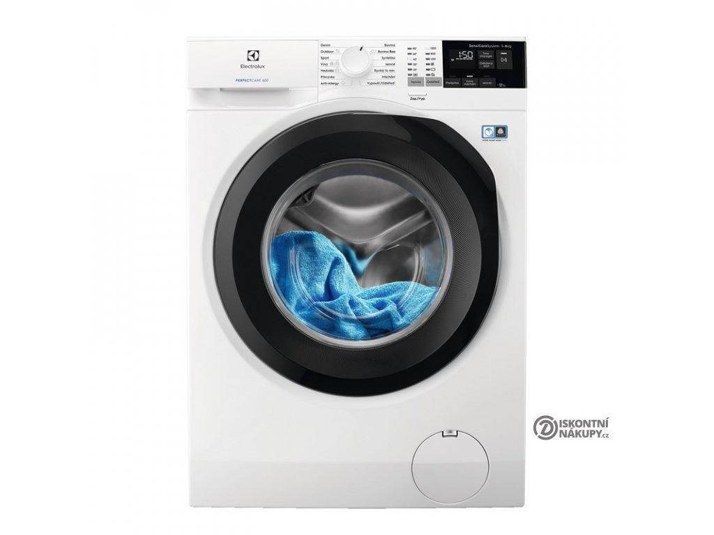Pračka Electrolux PerfectCare 600 EW6F428BC bílá  nepoužito-rozbaleno-oděrka na horní desce