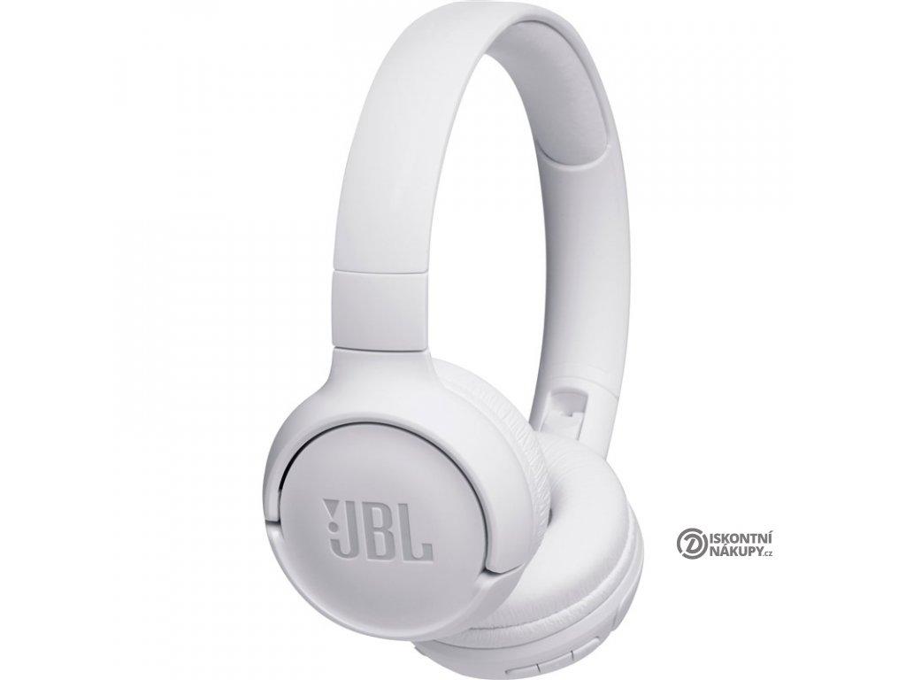 Sluchátka JBL Tune 500BT bílá  Vráceno ve 14ti denní lhůtě