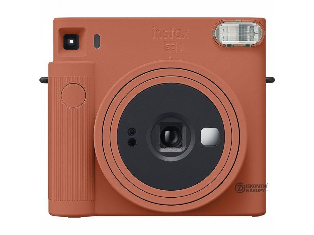 Digitální fotoaparát Fujifilm Instax SQ1 oranžový  Vráceno ve 14ti denní lhůtě