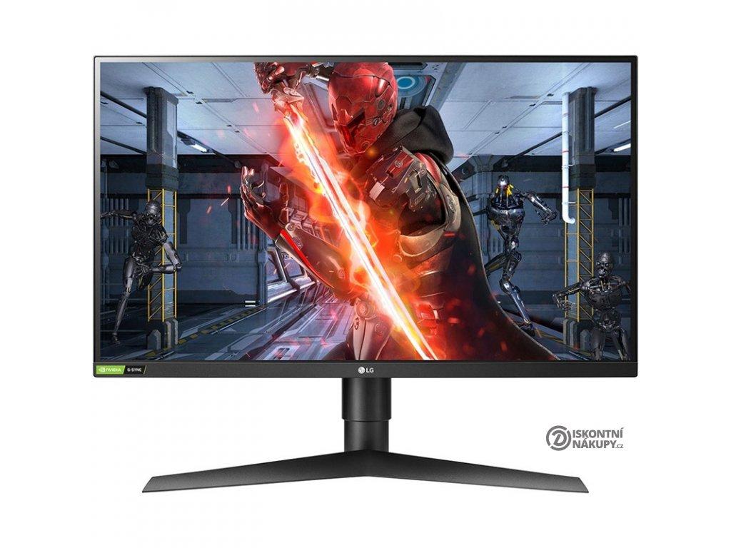 Monitor LG 27GL850 černé  Vráceno ve 14ti denní lhůtě