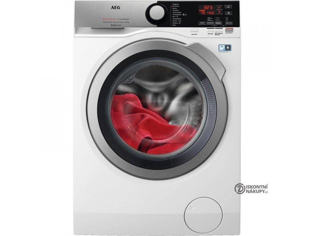 Pračka AEG ProSteam® L7FEE49SCA bílá  nepoužito-rozbaleno- malé oděrky na displeji