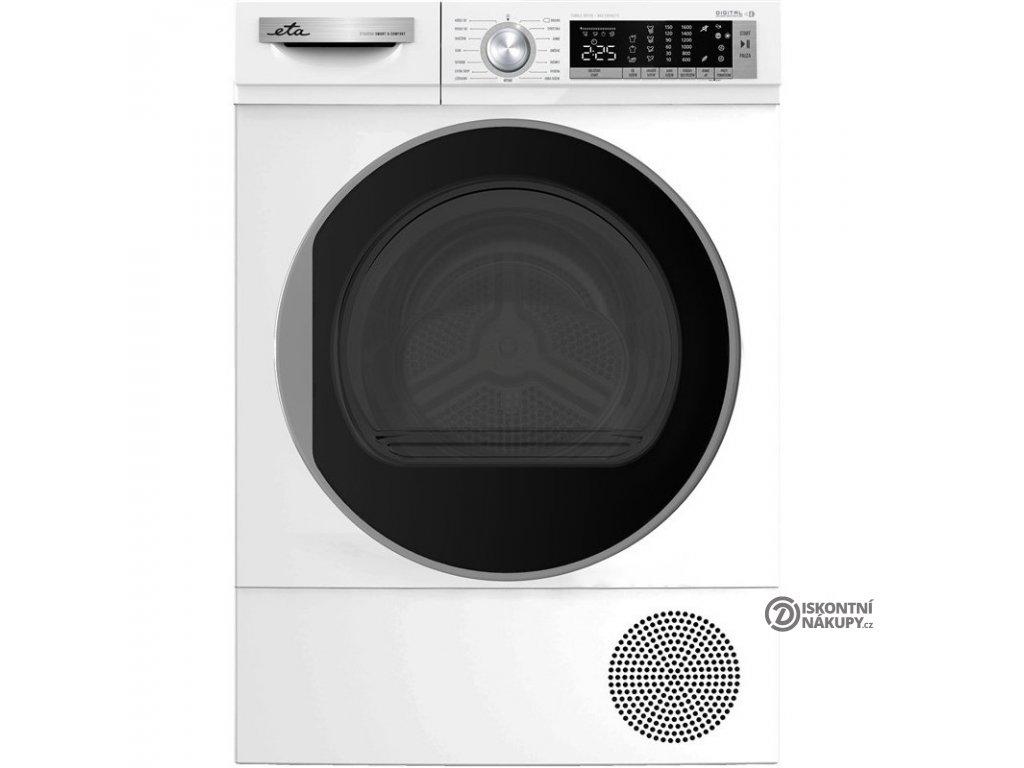 Sušička prádla ETA 355690000 bílá  nepoužito-levá strana def. plechu + oděrka