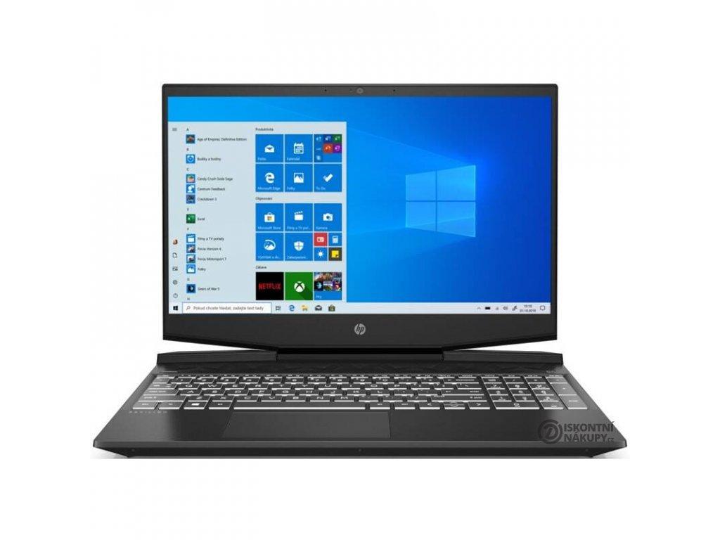 Notebook HP Pavilion Gaming 15-dk0600nc (8NK02EA#BCM) černý/bílý  Vystaveno na prodejně (3035 hod)