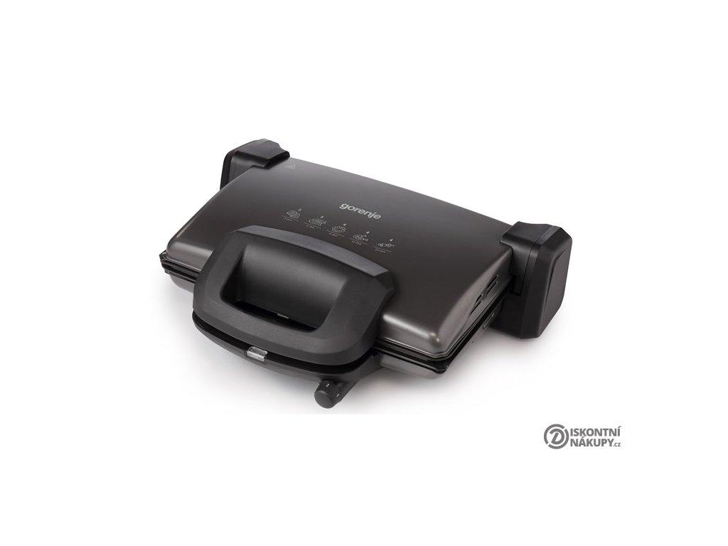 Gril Gorenje KR1800SDP černý  nepoužito-rozbaleno-poškozená krabice