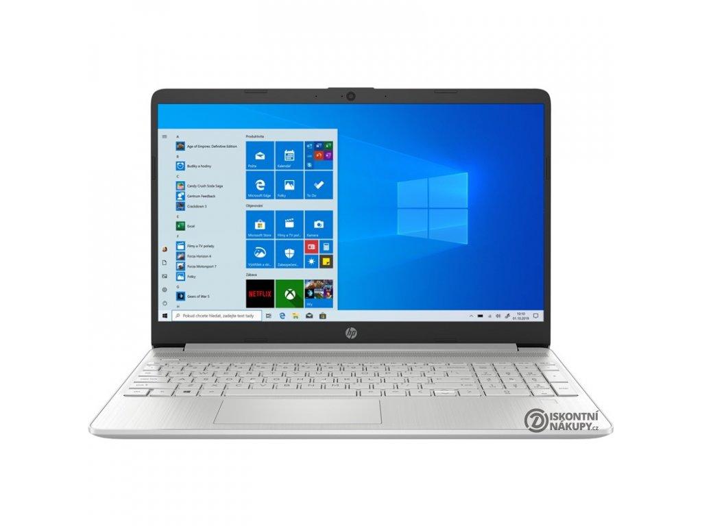Notebook HP 15s-eq1617nc stříbrný  (244M6EA#BCM)  Vráceno-chybí MS Office 365