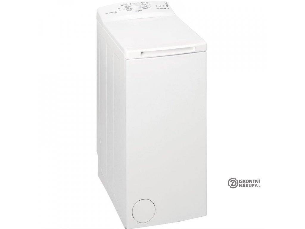 Pračka Whirlpool TDLR 5030L EU/N bílá  vráceno - chybí hadice + návod - pouze osobně