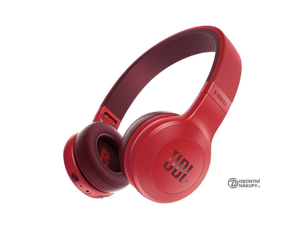 Sluchátka JBL E45BT červená  jble45btred