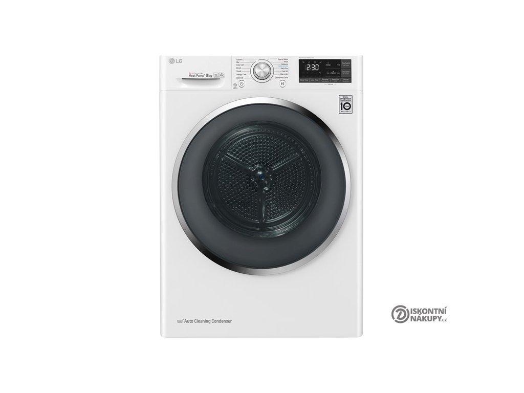 Sušička prádla LG RC91U2AV2W bílá  nepoužito-rozbaleno